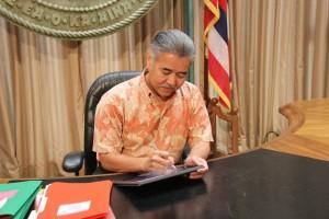 Governor Ige